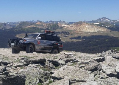 4x4 Tour in Pagosa Springs, CO.